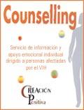 Servicio de información y apoyo emocional individual dirigido a personas infectadas por el VIH
